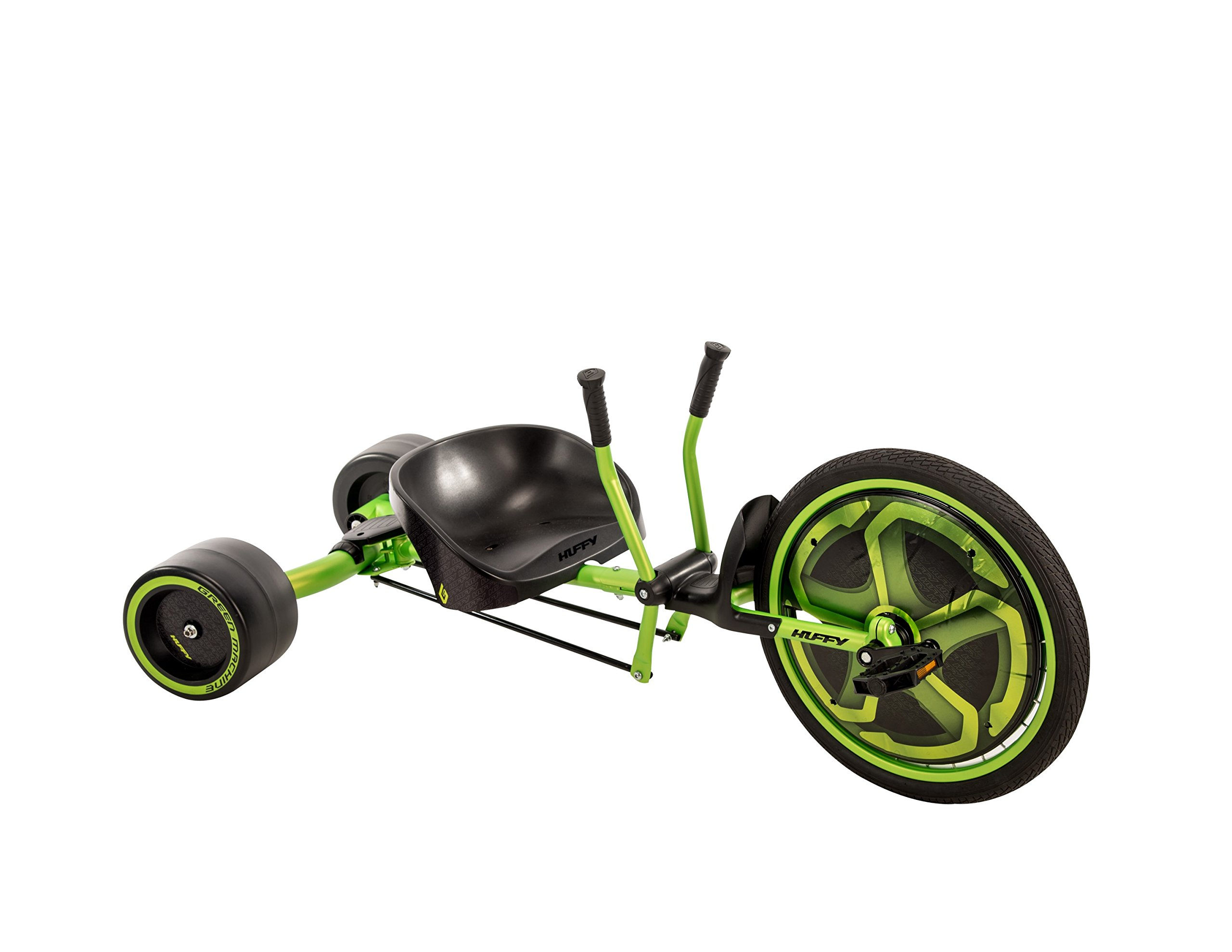 Huffy Green Machine 20-inch Trike, 2018 Version, Ages 8 and Older, with 180-Degree Spins and Awesome Drifts