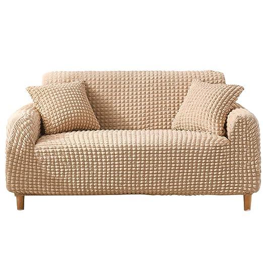 AFuex Funda de sofá sin Falda Lavable en la Lavadora sillón a ...