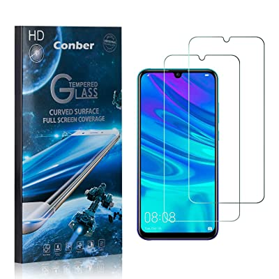 Conber (2 Pack) Screen Protector for Huawei Honor 10I, [Scratch-Resistant][Anti-Shatter][Case Friendly] Premium Tempered Glass Screen Protector for Huawei Honor 10I: Baby