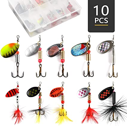 5 packs of size 10 trout hooks for using power bait brand new 60 pcs