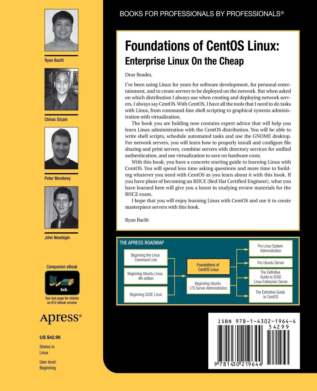 Foundations of CentOS Linux: Enterprise Linux On the Cheap: Amazon