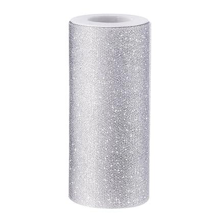 a06a0cdab62b Scintillante Nastro Rotolo Tulle Glitter Tulle Bobina