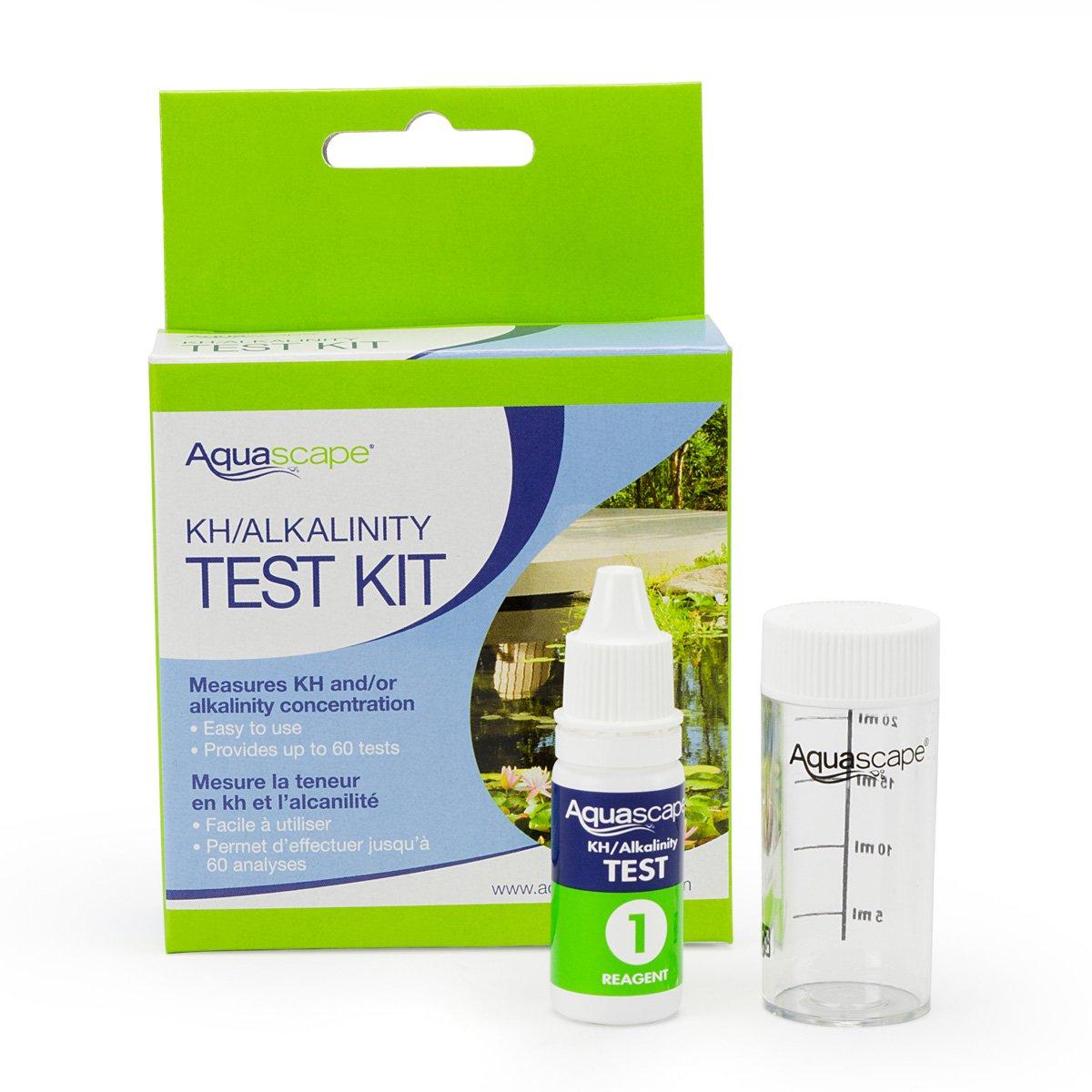 Aquascape 96019 Kit de prueba de agua Kh alcalinidad para estanque y jardín características, 60 pruebas: Amazon.es: Jardín