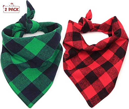 Blue Geometrical Dog Bandana \u2022 Reversible Tie On Style \u2022 Detailed Stitch Trim \u2022 Dog Scarf \u2022 Small Batch Bandanas