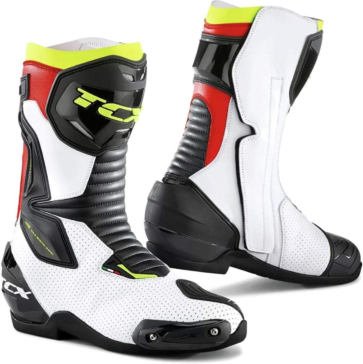 EUR 38 Black TCX Mens NC Motorcycle Boots
