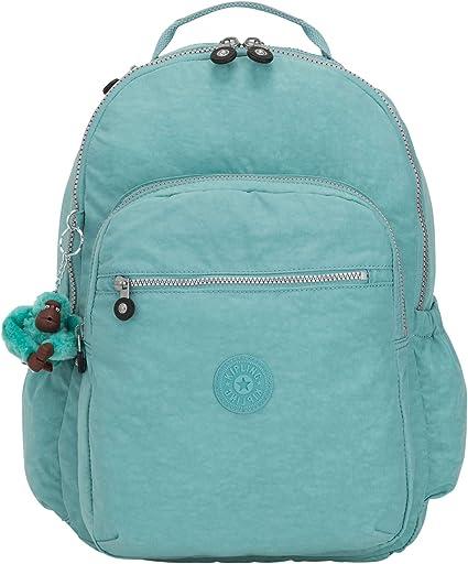 "Kipling Seoul Go Large 15"" Laptop Backpack One Size Baltic Mint Green"