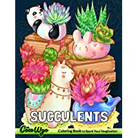 Succulents Coloring Book: Adult Coloring Book With Succulents, Plants, Cactus, Terrarium For Relaxation