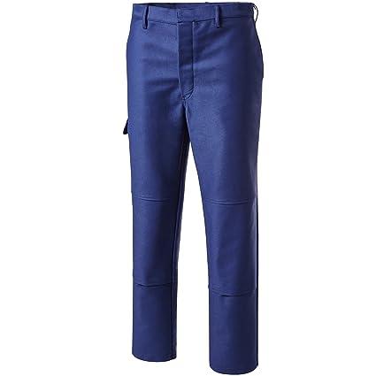 PIONIER 2794 – 64 soldador protección pantalones de trabajo, color azul marino, tamaño 64