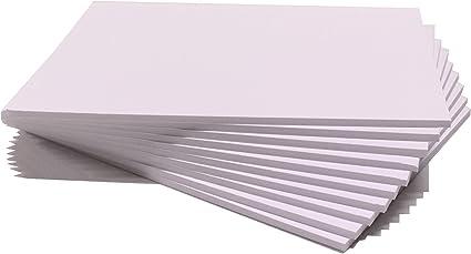 Chely Intermarket cartón Pluma blanco A3 (Caja 24unds) con espesor de 5mm, especial para presentación de fotografía, trabajo maqueta Arquitectura y manualidades.(540-A3*24-0,95): Amazon.es: Oficina y papelería