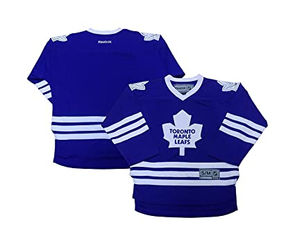 6a7207b50c0 Toronto Maple Leafs Blank Men s Blue Rink Side Home Jersey (Small Medium)