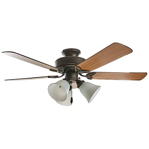 Hugger Ceiling Fans with Lights: Amazon.com
