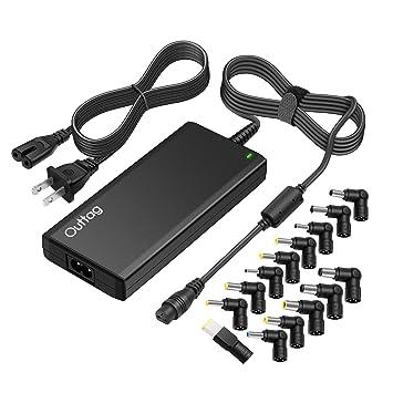 Outtag Ultra-Slim 65W Universal AC Laptop Charger Power Adapter 18.5V 19V 19.5V 20V for HP Dell Lenovo Acer ASUS Toshiba Samsung Sony Fujitsu Gateway ...