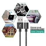 Ahker Micro USB Charging Cable, [4pcs 10ft] Nylon