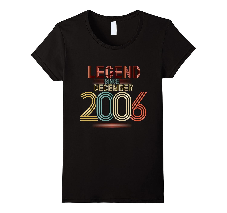 Womens Legend December T Shirt Birthday-Teeae