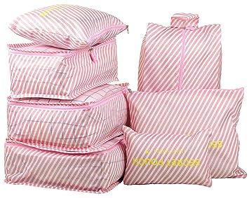 Amazon.com: 7 bolsas de almacenamiento impermeables de viaje ...
