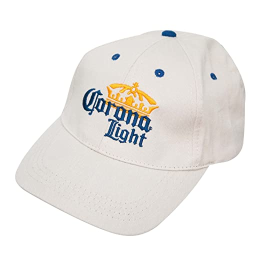 Image Unavailable. Image not available for. Color  Corona Light Crown Logo  Hat 21d1c1de35b