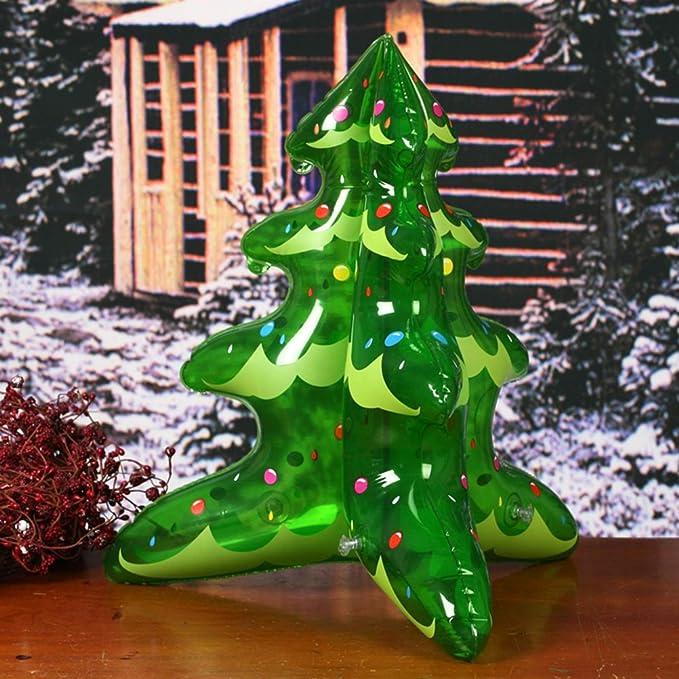 Toyvian Juguete Hinchable para decoración de Navidad, árboles de ...