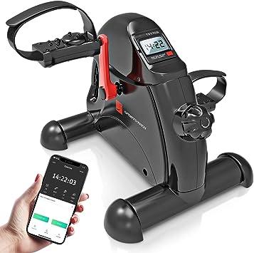 Sportstech Mini Home Trainer, Mini Bike + Fitness Application