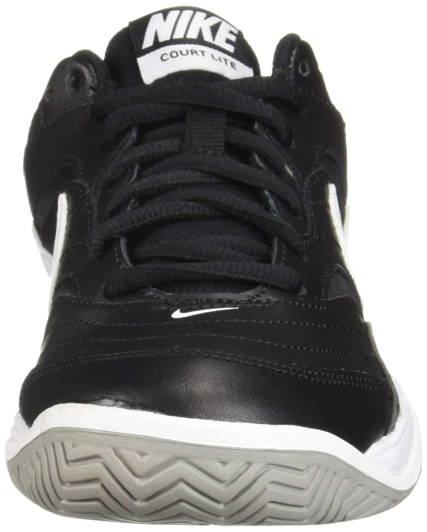 NIKE Men's Court Lite Athletic Shoe, Black/White/Medium Grey, 7.5 Regular US by Nike (Image #4)