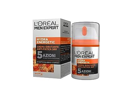5430e332b8 L'Oréal Paris Men Expert Hydra Energetic Crema Idratante Anti-Fatica, con  Estratto