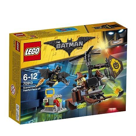 Lego Construction Jeu Le Movie Batman L'épouvantail De À 70913 Face Avec nPwkX80O