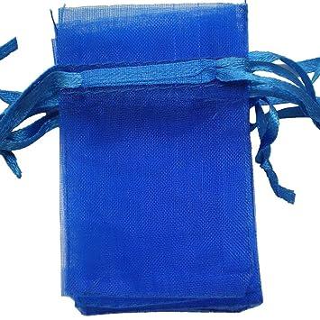 100 bolsas de organza de 10 x 15 cm para regalo de bodas ...