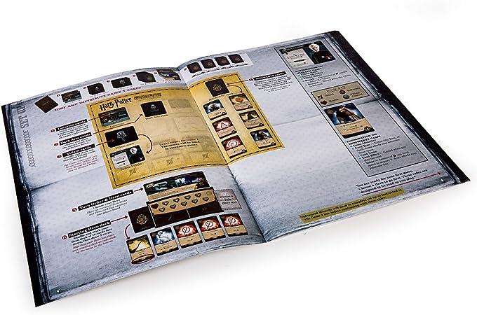 The Hamilton Collection Harry Potter: Hogwarts Battle Juego de Mesa cooperativo de 2 a 4 Jugadores: Amazon.es: Hogar