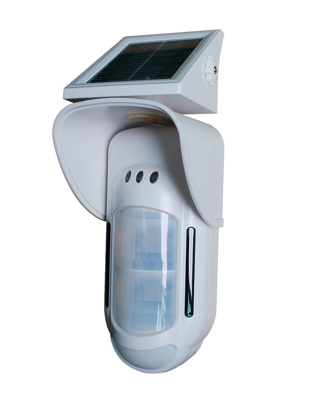 AtlanticS FT-89RS Sensor exterior solar Bi-volumétrica blanco: Amazon.es: Bricolaje y herramientas