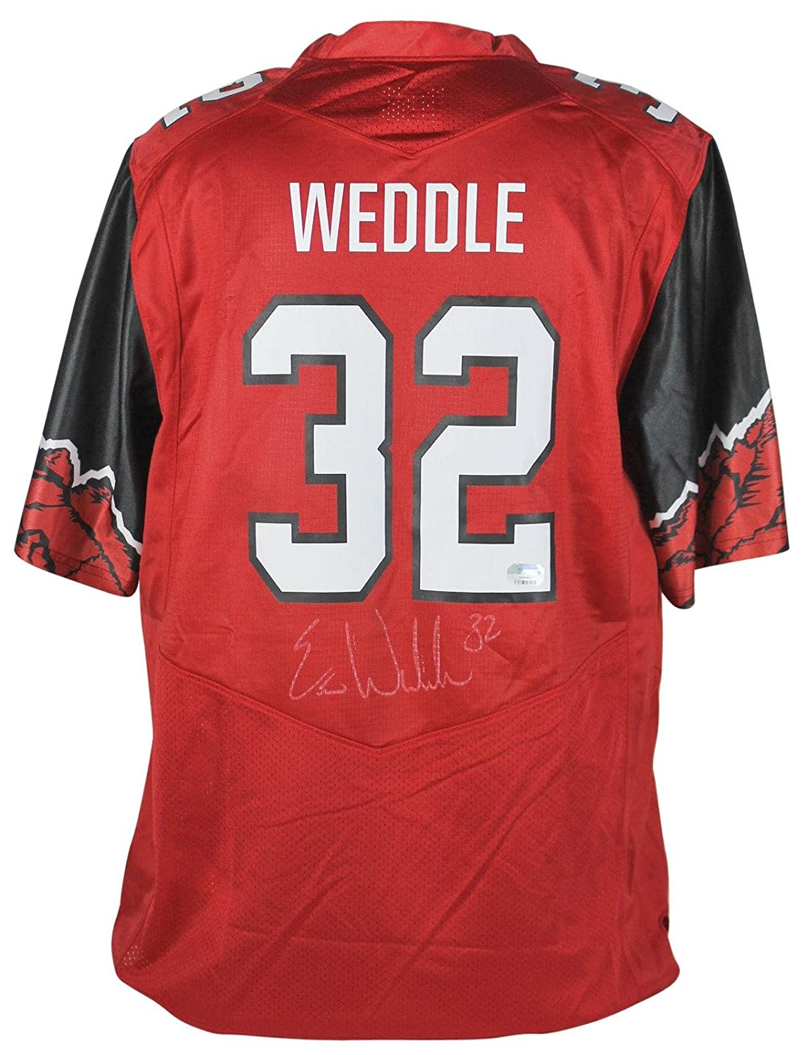 huge selection of fd9ef bac2f Eric Weddle Autographed Jersey - Utah Red Under Armour ...