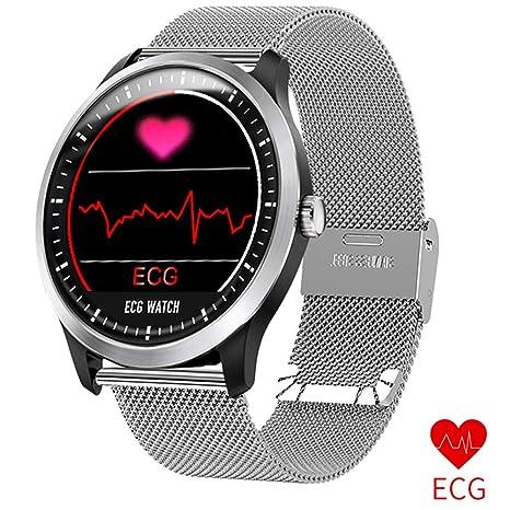 Linbing123 Reloj Inteligente Bluetooth, IP67 Smartwatch ...