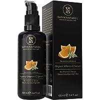 Serum de Vitamina C orgánico con Acido Hialuronico - 100ml - Doble Complejo 30% Vitamina C, E, Aloe Vera - Serum Facial…