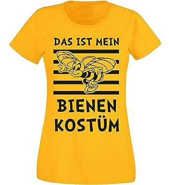 Shirt Kostüm Bienen Sports Aprom Gruppenkostüm T Damen Karneval 7xwEnPFqA