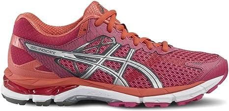 Asics Gel indicar 2 Zapatillas de Running, Color Morado/Silver/Hot Coral, Fuchsia Purple/Silver/Hot Coral: Amazon.es: Deportes y aire libre