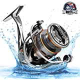 Cadence CS8 Spinning Reel, Ultralight Fast Speed Premium Magnesium Frame Fishing Reel with 10 Low Torque Bearings Super…
