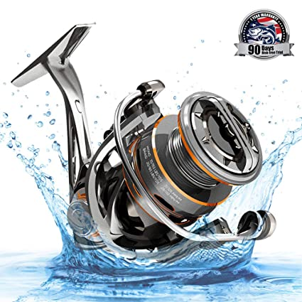 603b515712c CS8 Spinning Reel, Ultralight Premium Magnesium Frame Fishing Reel with 9+1  Corrosion Resistant Bearings Smooth Powerful Fishing Reel Spinning with  19Lb ...
