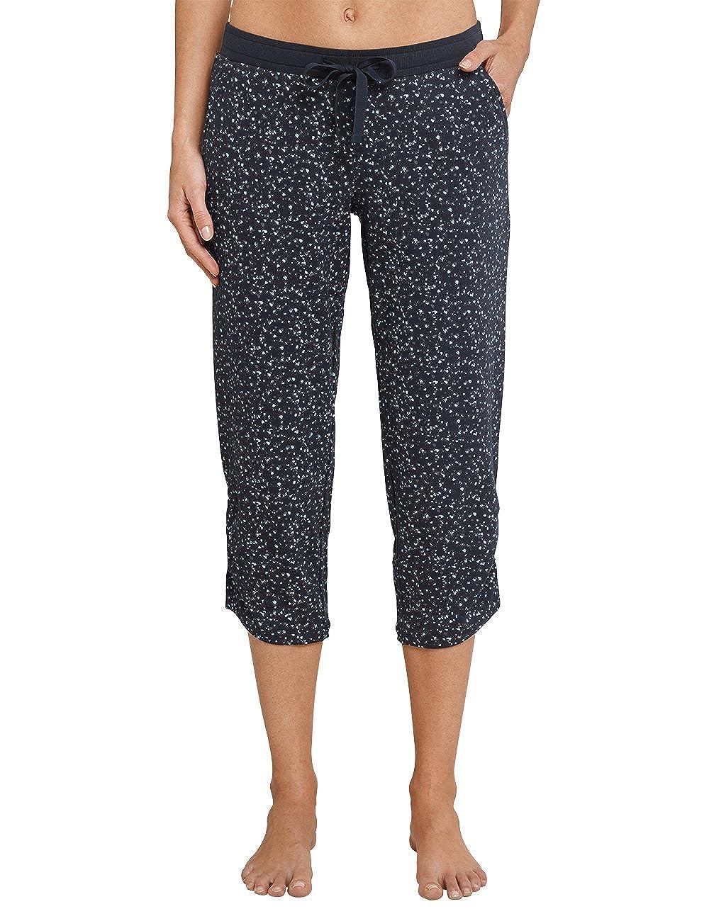TALLA 40. Schiesser Pantalones de Pijama para Mujer