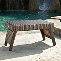 RST Brands Outdoor Lounger Side Table Patio Furniture