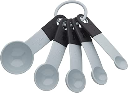 KitchenAid Measuring Spoons Set of 5 Misty Blue