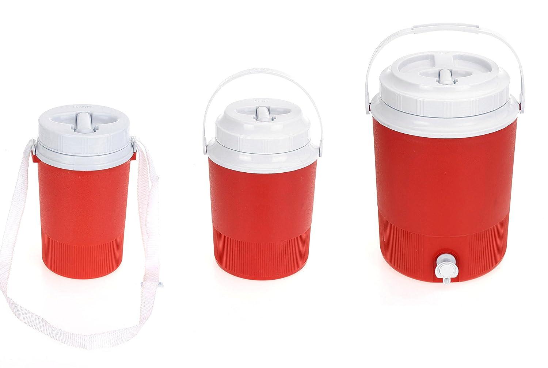 1.25Lt 2.4Lt 7.5Lt Plastic Camping Fishing Picnic Drinking Water Barrel Carrier Excellent Houseware