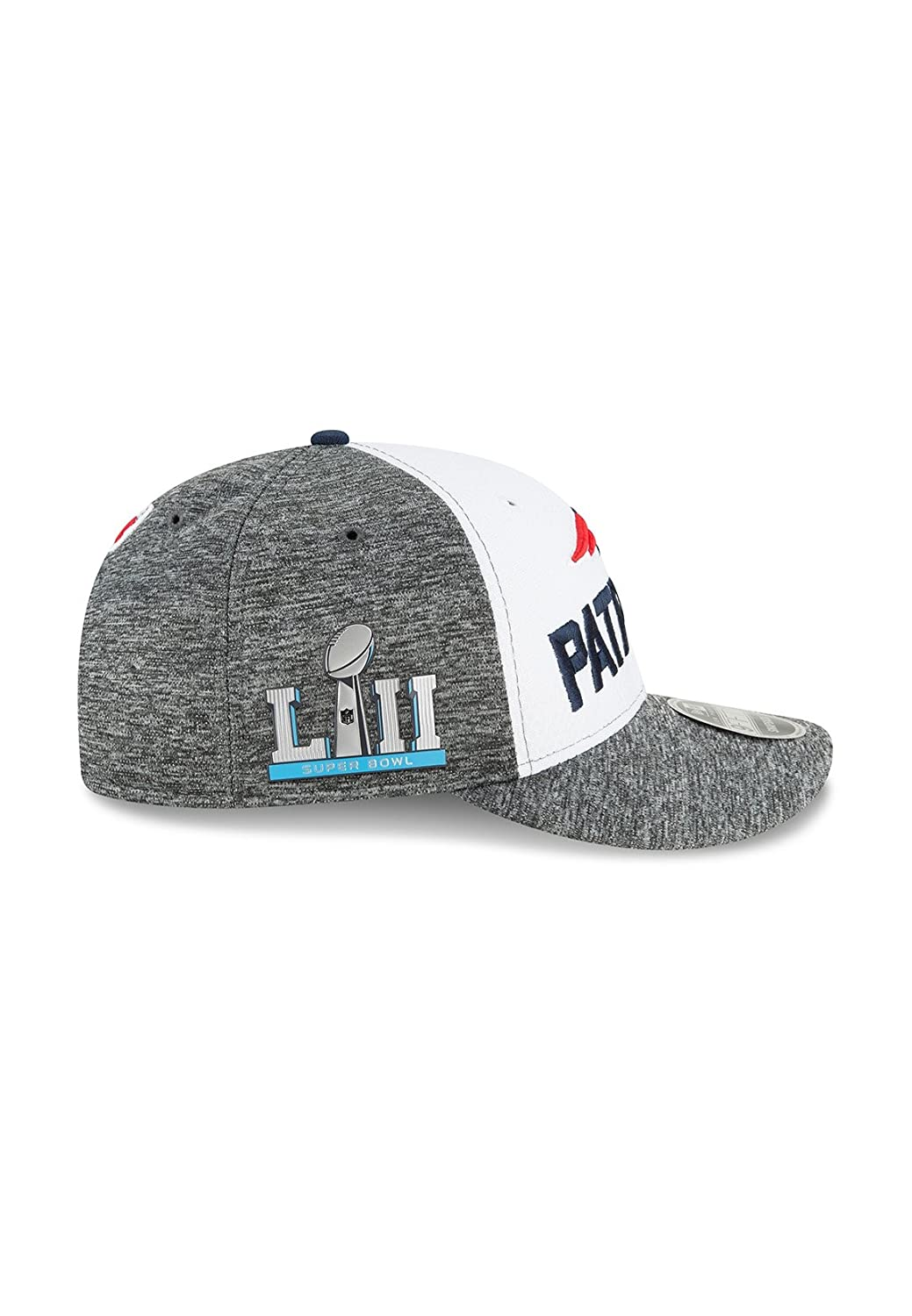quality design 8c5b2 2cfb2 ... sideline 9fifty snapback adjustable hat 0b3c0 e0b3e  coupon code for  amazon new era new england patriots super bowl lii opening night low profile