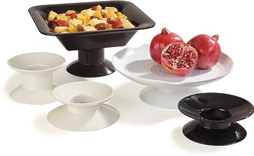 Carlisle 790002 Melamine Dish Pedestal, 2-3/4\