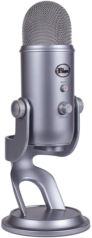 Microfono Condensador Usb Blue Yeti Space Gray (xmp)