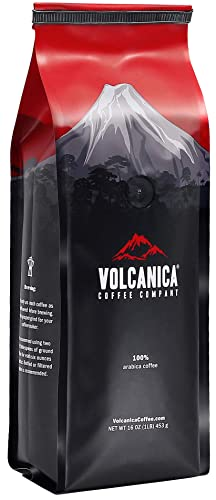 Volcanica Kawa Kona Peaberry Coffee