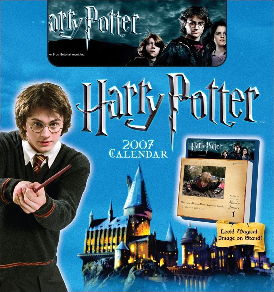 Harry Potter 2007 Day Calendar product image