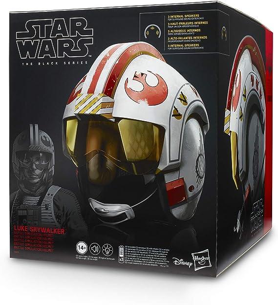Star Wars Luke Skywalker Movie Costume Replica Lightsaber Training Helmet Decals
