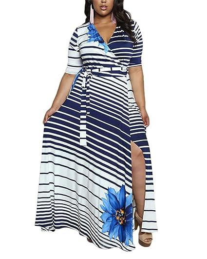 Cacncut Womens Plus Size Dress Big Size Maxi Dress For Women Sexy