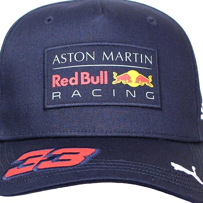 df12252ba33ab Gorra De Béisbol De Max Verstappen Aston Martin Red Bull Racing F1TM 2018   Amazon.es  Deportes y aire libre