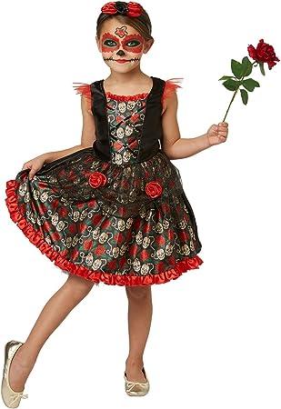 RUBIE S 2630709 M Red Rose Day of the Dead, disfraz para niños, M ...