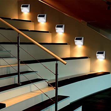 Techcode WallAmazon uk Outdoor Steel LightsStainless Solar co vnOymN80wP