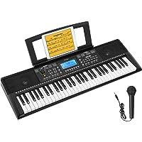 Donner Teclado Piano Electrico 61 Teclas, Organo Electronico Piano Digital Professional para Principiantes con Atril de…